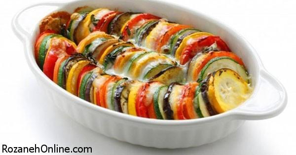 دستور پخت خوراک سبزیجات ویژه گیاهخواران