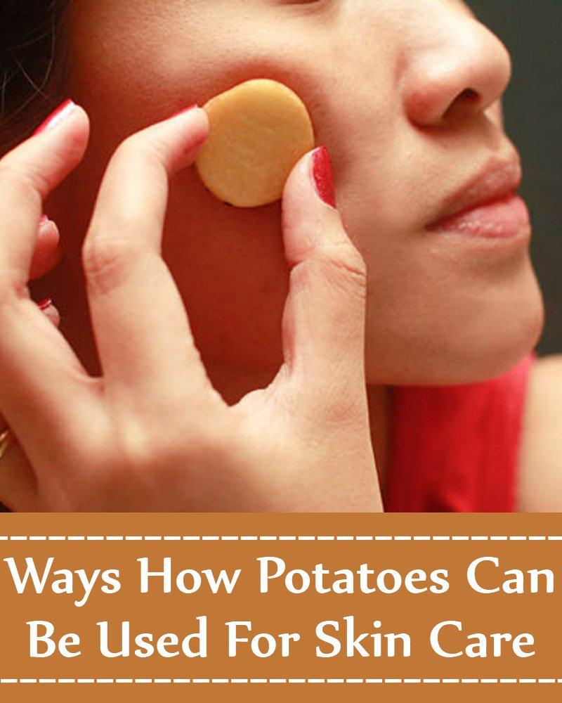 شش شیوه  استفاده از سیب زمینی برای مراقبت از پوست
