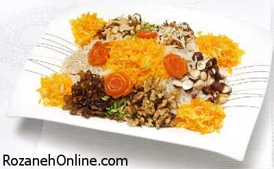 دستور پخت آجیل پلو یک غذای کاملا اصیل هندی