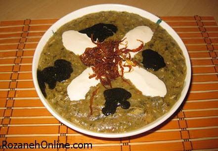 دستور پخت آش گندم بدون گوشت ویژه ماه رمضان