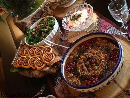 طرز تهیه آش شب یلدا با استفاده از عدس و لپه