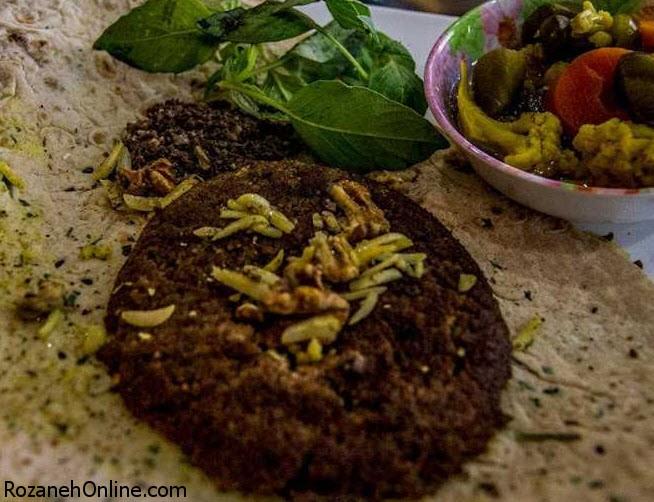 طرز تهیه بریانی اصفهان با گوشت گوسفند و جگر سفید