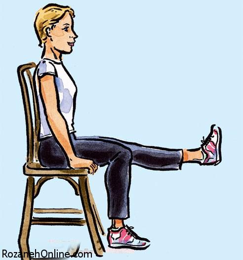 نکاتی درباره وضعیت نشستن روی صندلی و تنفس در ورزش بارداری