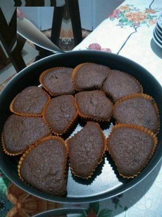 آموزش یک صبحانه رژیمی با مافین شکلاتی رژیمی