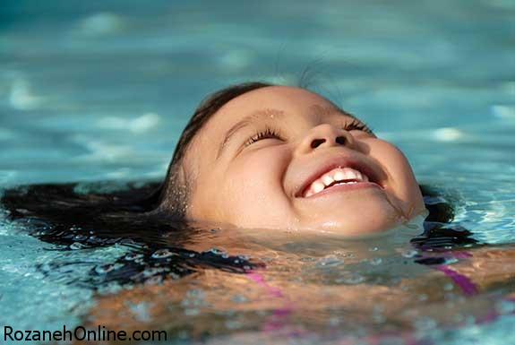 عوارض آب استخر برای مبتلایان به اگزما