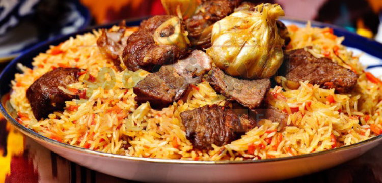 طرز تهیه قابلمه یک غذای ترکمنی با ماهی