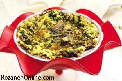دستور پخت قلیه تخم مرغ یک غذای خوزستانی