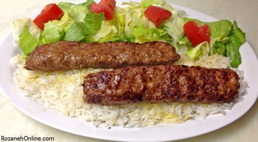 طرز تهیه کباب کوبیده یونانی با استفاده از گوشت راسته