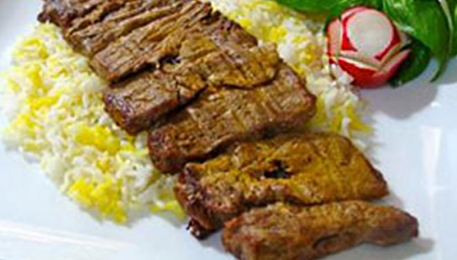 درست کردن کباب برگ زعفرانی ویژه مهمانی ها