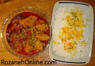 آموزش پخت خورش غوره بادمجان با مرغ یا جوجه