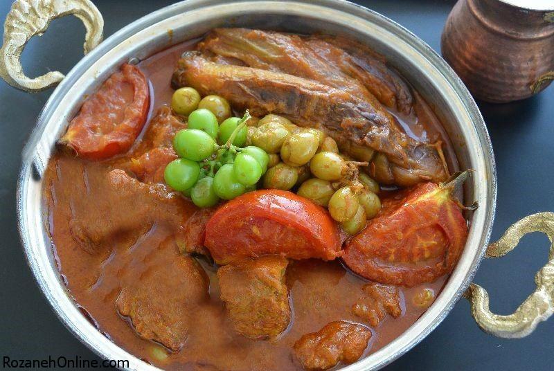 دستور پخت خورش غوره ویژه فصل گرم تابستان