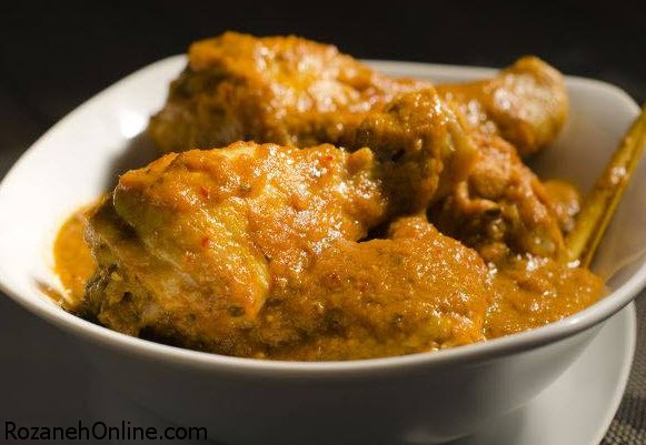 طرز تهیه خورش مرغ هندی با ماست یک غذای هندی اصیل