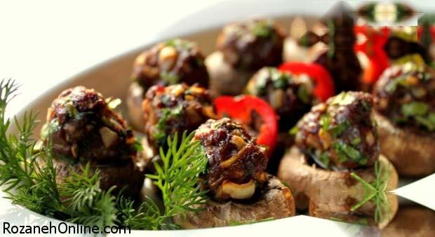 چگونه در خانه کوفته قارچ  با رسپی ترکیه درست کنیم