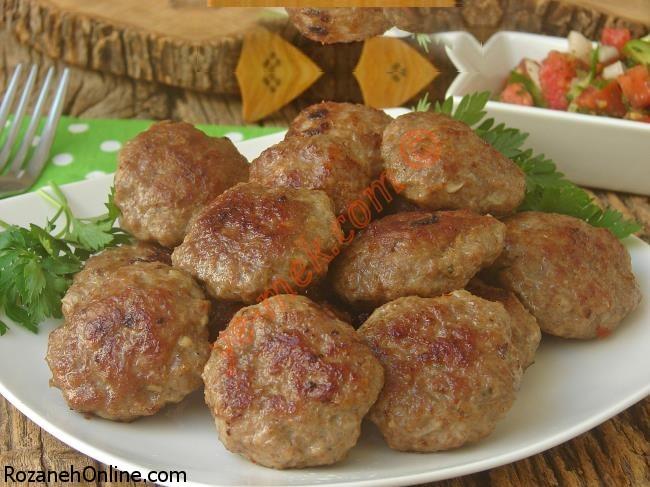آشنایی با درست کردن کوفته گوشت به سبک ترکیه