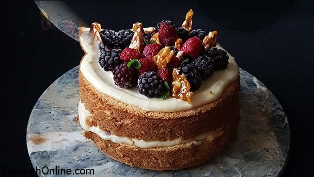 آموزش پخت کیک آسان و خوشمزه کاراملی