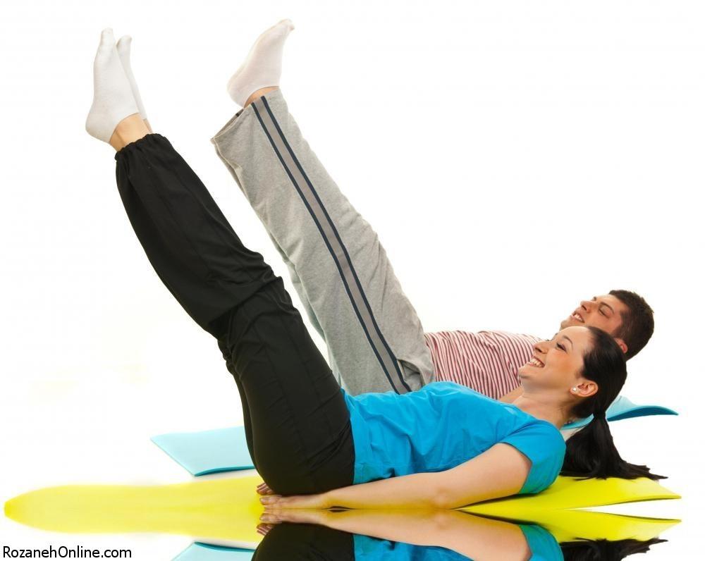 در زمان بارداری  ورزش های کششی و قدرتی  را فراموش نکنید