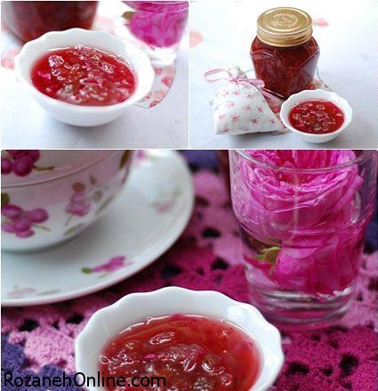 آموزش مربای گل سرخ لذیذ و خوشمزه به سبک ترکیه