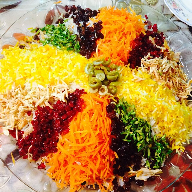 درست کردن مرصع پلو یک غذای مجلسی تمام عیار