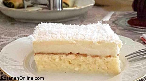 آشنایی با شیوه درست کردن کیک عروس خانگی ترکیه