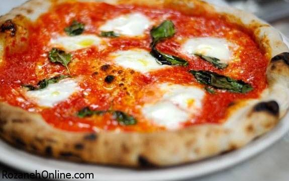 طرز پخت پیتزای مارگاریتا با روش کاملا ایتالیایی