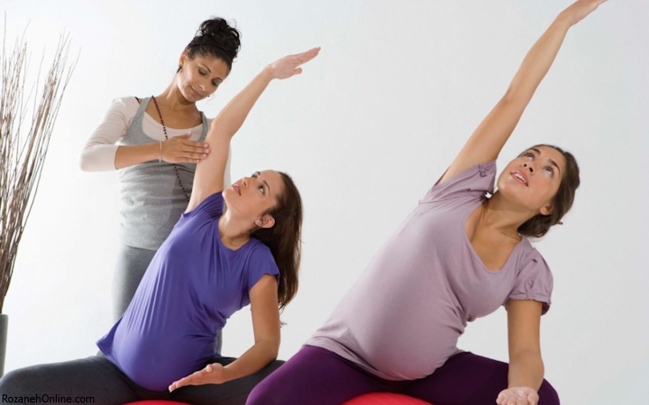 ورزش  دوران حاملگی و احساس  کشیدگی در ناحیه شکم