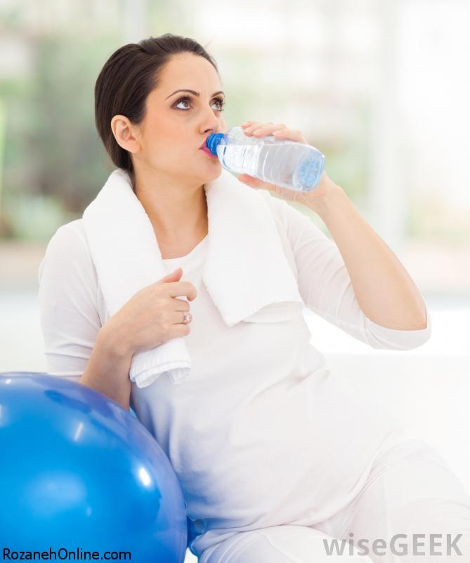 خانم های باردار و شدت ورزش در آنها