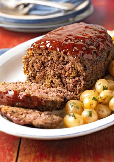 پخت رولت گوشت با استفاده از گوشت چرخ کرده و جعفری