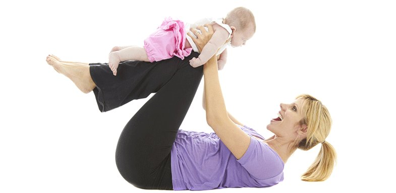 حرکات ورزشی پس از تولد فرزند