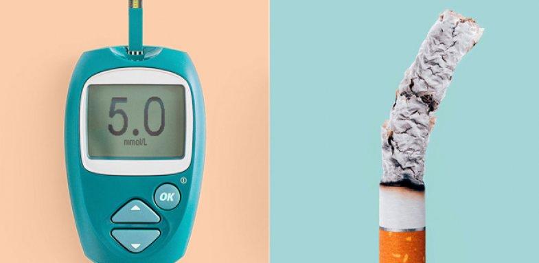 سیگار و بیماری دیابت