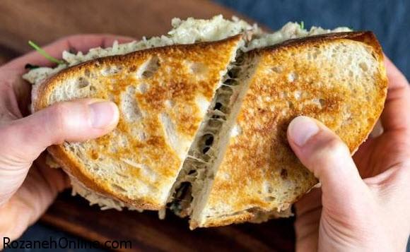 طرز تهیه ساندویچ تن ماهی ویژه مهمان های ناخوانده
