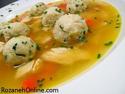 درست کردن سوپ آووکادو و تره فرنگی ویژه درمان سرماخوردگی