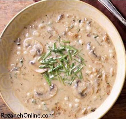 آموزش پخت سوپ قارچ با دستور پخت کاملا متفاوت