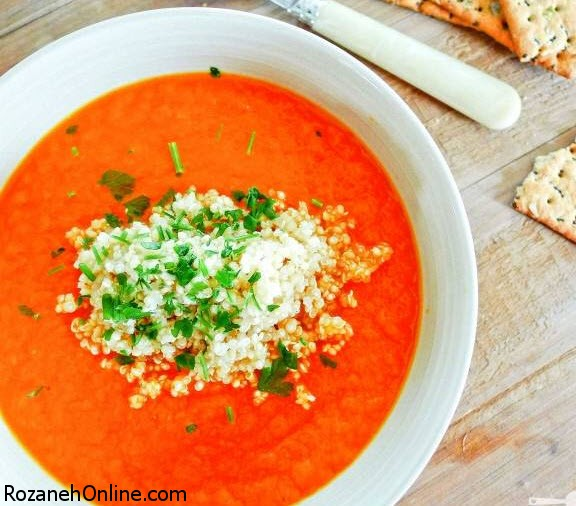 طرز تهیه سوپ هویج و کرفس ویژه هوای سرد