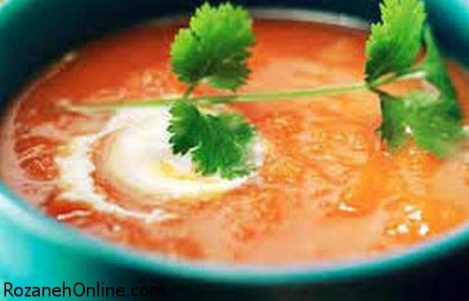 طرز تهیه سوپ های زمستانی بسیار مقوی (2)