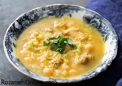 دستور تهیه سوپ نخود یک شام بسیار مقوی
