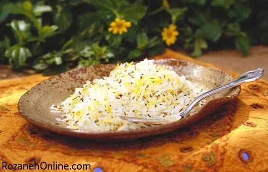 طرز تهیه زیره پلو کرمانی با استفاده از زیره اصل کرمان