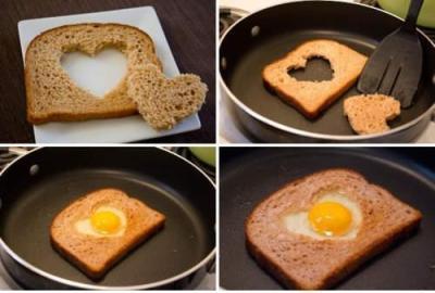 درست کردن اسنک تخم مرغ ویژه یک صبحانه کامل و مقوی