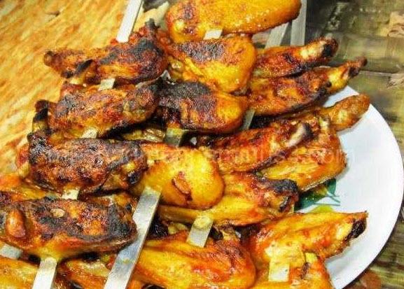 دستور پخت بال مرغ کبابی با سس باربیکیو و سس سویا