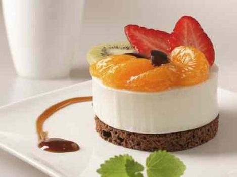طرز تهیه کیک میوه ای و شکلات یک دسر بسیار عالی
