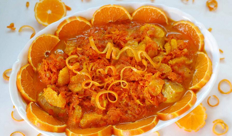 دستور پخت خورش نارنگی یک خورش بسیار خوشرنگ پاییزی