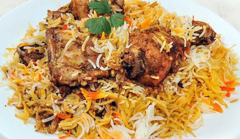آموزش پخت بریانی مرغ هندی یک غذای مشهور هندی