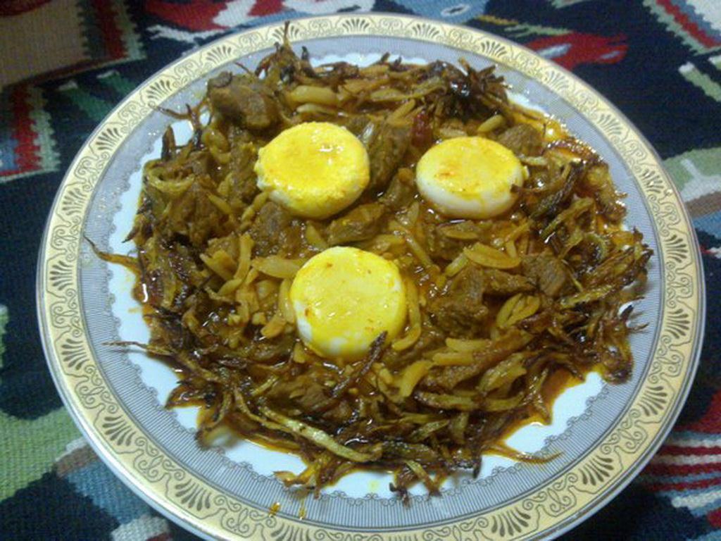 پخت قیمه پیچاق یک خورش بسیار خوشمزه آذربایجانی