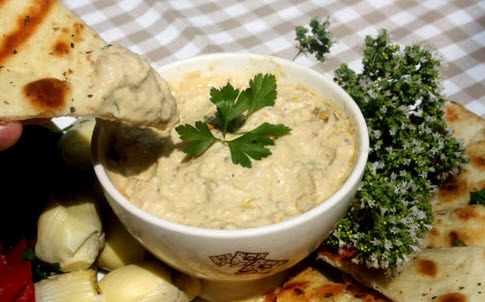 دستور پخت هوموس غذای مشهور لبنانی و ترکیه ای
