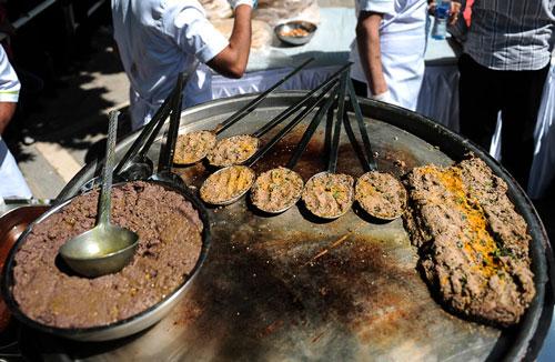 دستور پخت کباب بریانی یک کباب اصفهانی مشهور