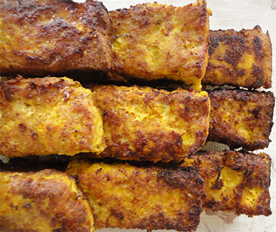 طرز پخت کباب مرغ تابه ای یک غذای خانگی کاملا راحت