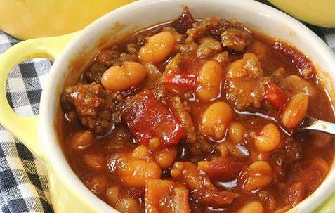نحوه پخت خوراک گوشت و لوبیا همراه با هویج و سیب زمینی