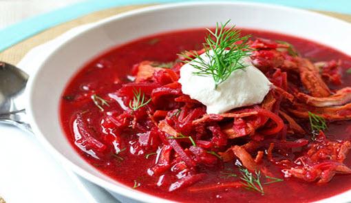 پخت خورش گوشت و چغندر پاییزی غذای معروف روسی