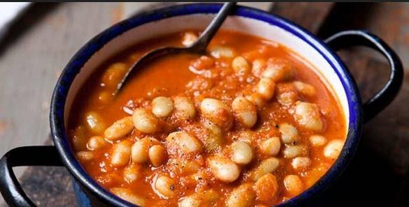 پخت خوراک لوبیا چیتی یک شام کم هزینه و کامل