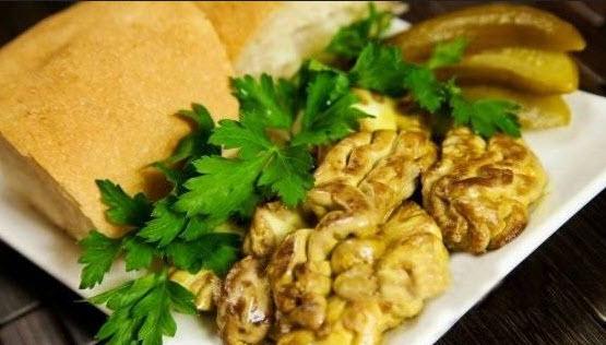 دستور پخت خوراک مغز یک غذای کامل و مغذی