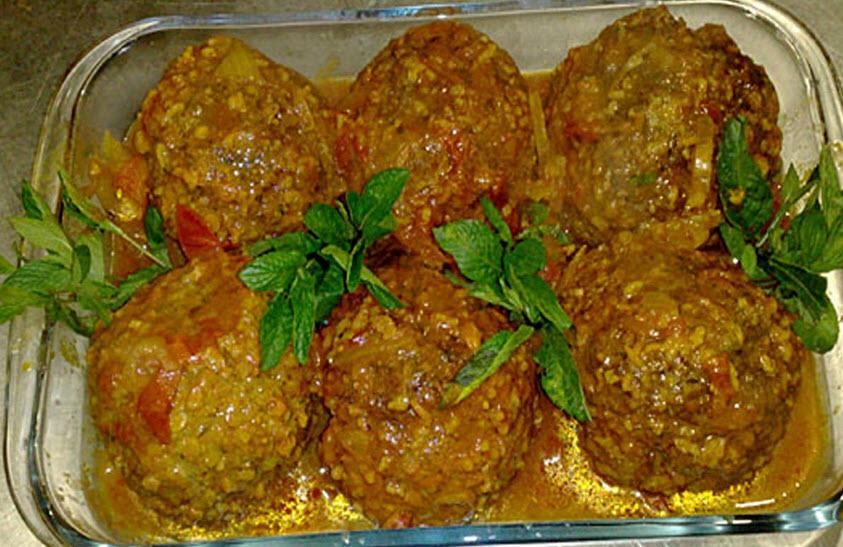 چگونه کوفته سبزی شیرازی را درست کنیم؟